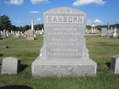 Joseph Haven Sanborn Loudonville Ohio Clara Sanborn