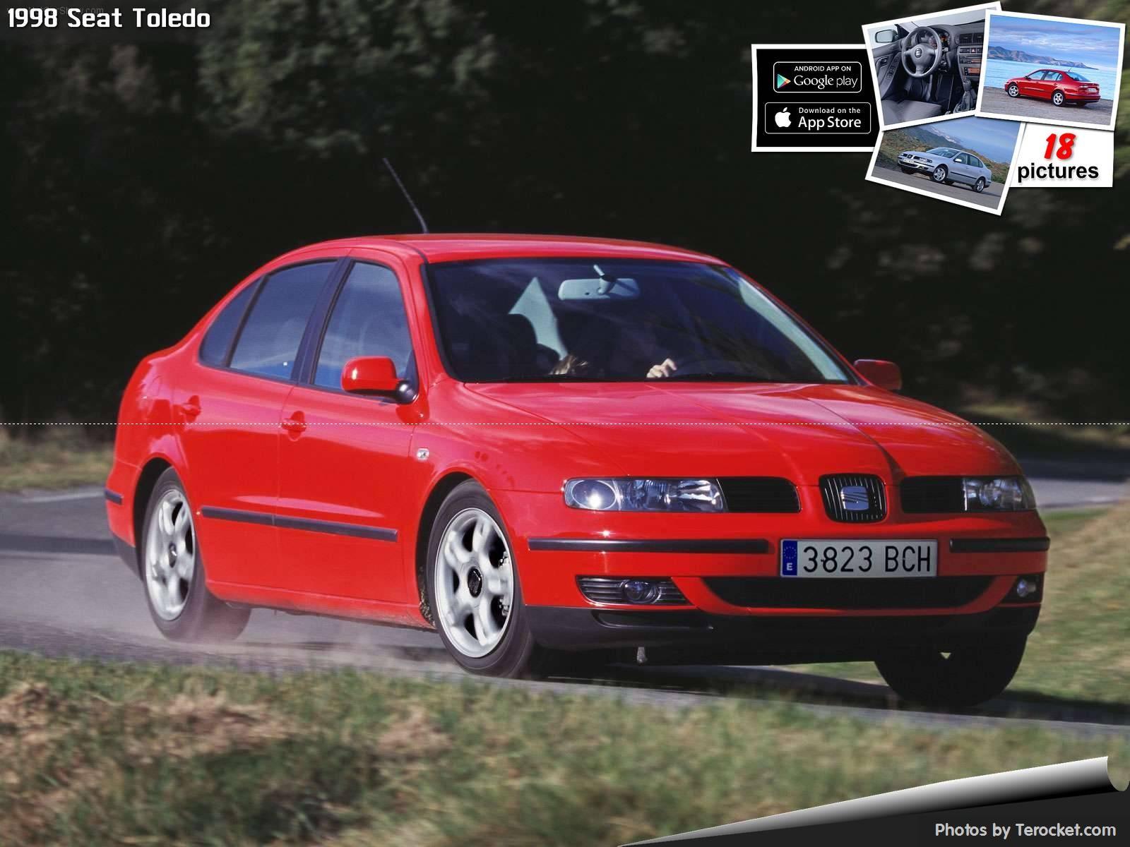 Hình ảnh xe ô tô Seat Toledo 1998 & nội ngoại thất