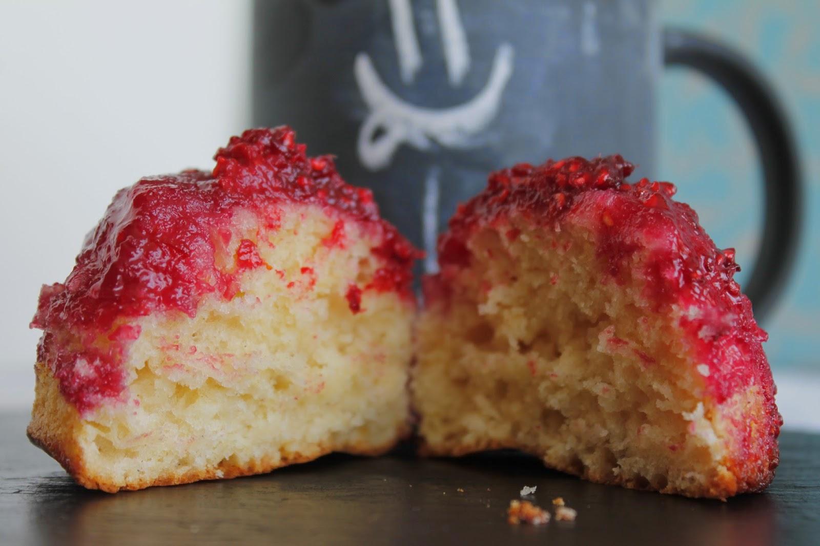 Receta Muffins de frambuesa
