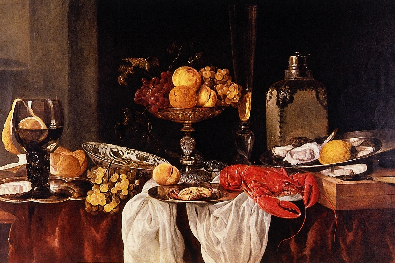 Artbouillon flemish food art an appreciation for Baroque lifestyle