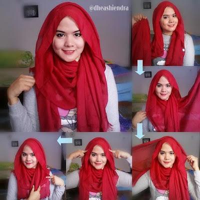 Cara Memakai Hijab Simple dan Modis