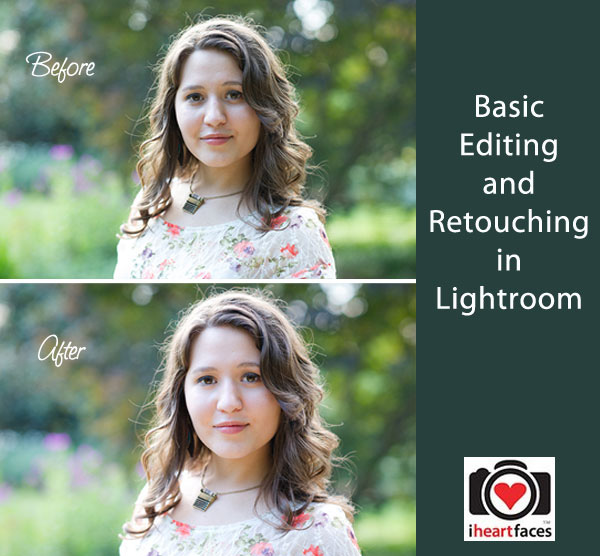 Basic Editing and Retouching in Lightroom