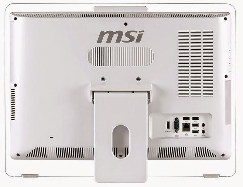 Задняя сторона Моноблока MSI Adora 20 5M