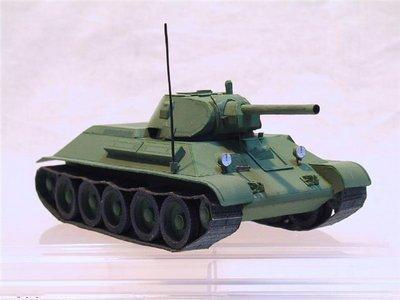 Так т-34 модель своими руками 74