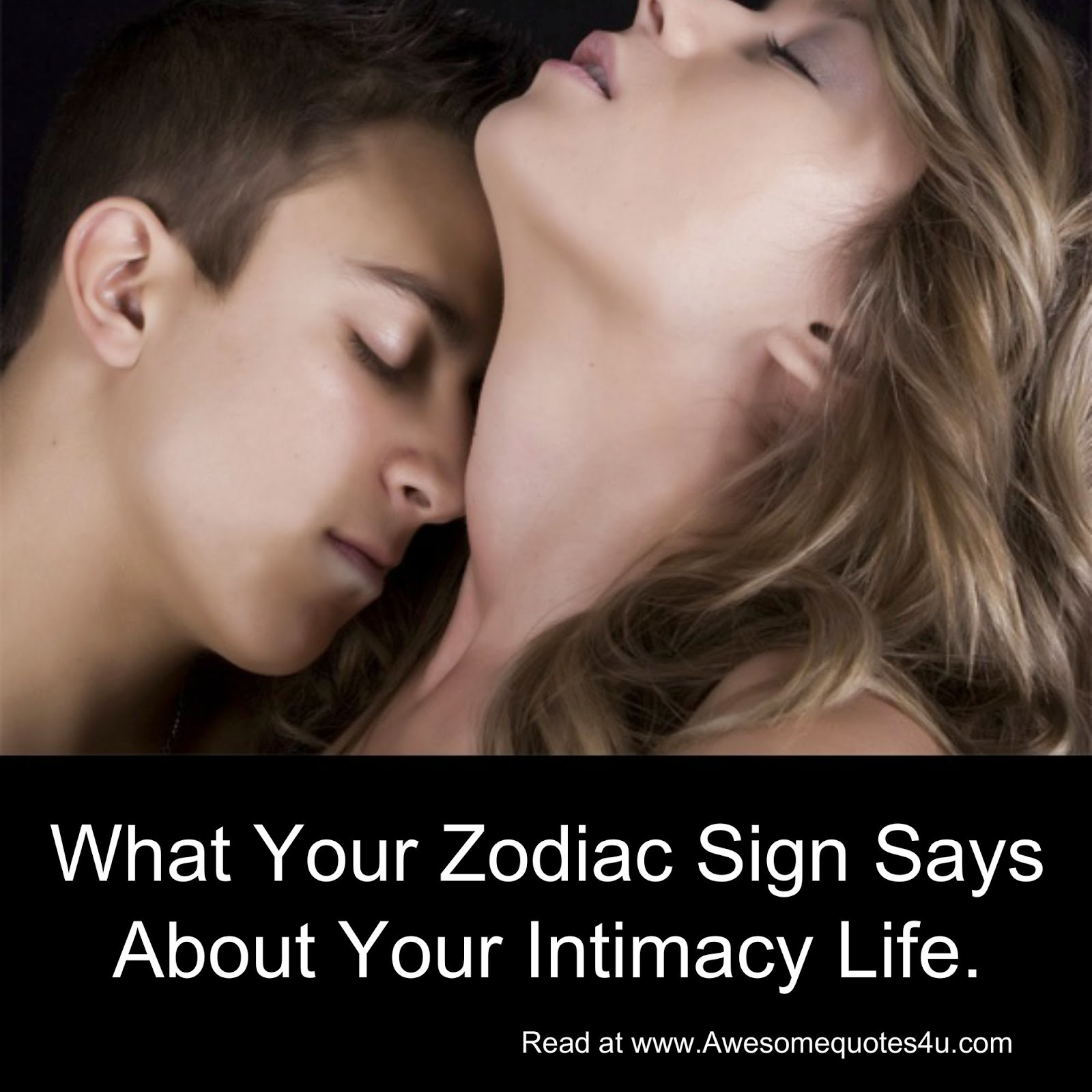 What your zodiac sign says about your dating life