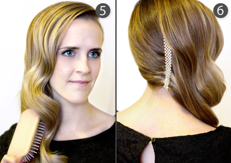 Hair and Make-up by Steph: How To: Ultra Deep Side Sweep