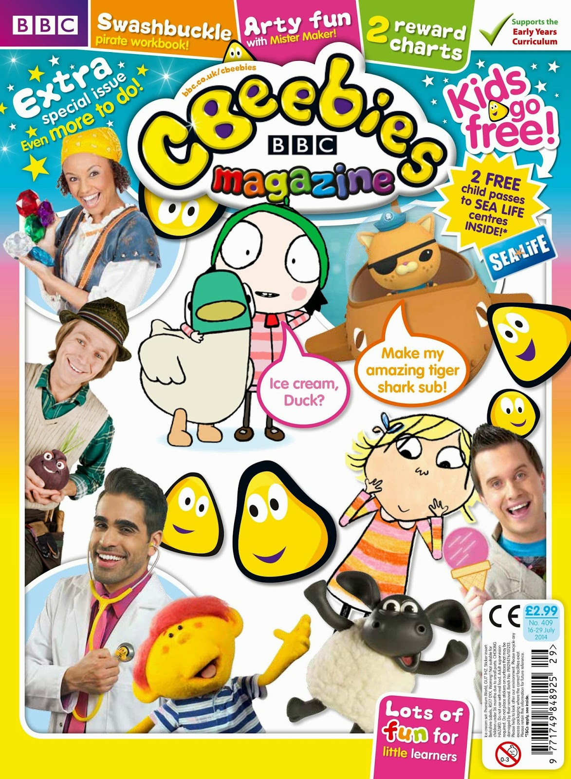 CBeebies Magazine, Merlin Entertainments, #CBeebiesMagKidsGoFree