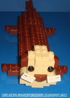 LEGO River Otter Creation
