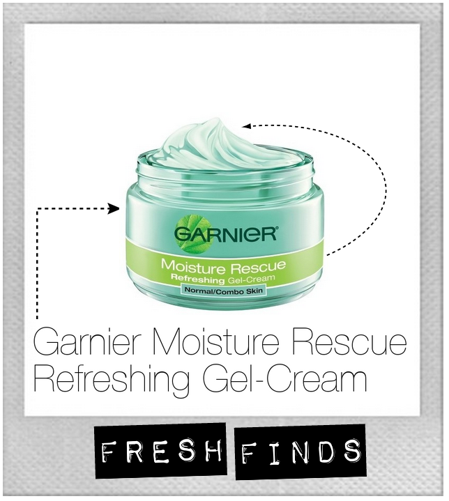 Garnier moisture rescue refreshing gel cream hydrating combination skin dry dull face cream healthy moisturizer soft beauty