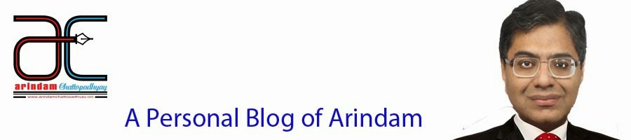 A Personal Blog of Arindam