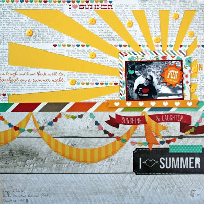 Summer Love Layout