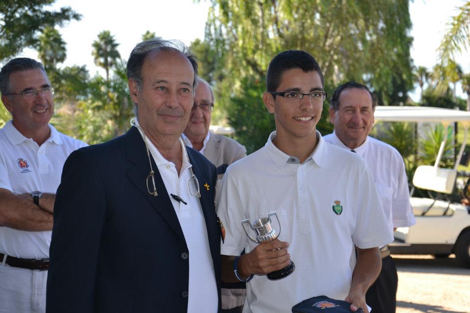Ganador Puntuable Pitch & Putt Nacional de RFEG 2012 en Sancti petri