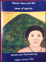 Mount Vaea and the tears of Apa'ula (A4 Picture book)