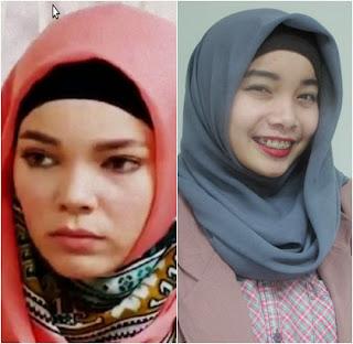 Gambar Cara Memakai Hijab Hana Dewi Sandra Langkah Kelima Tutorial Jilbab Lengkap
