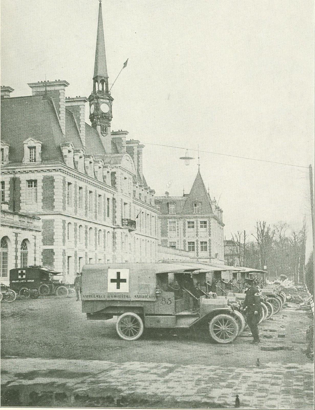 digital history project an american ambulancier at verdun world war i. Black Bedroom Furniture Sets. Home Design Ideas