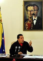 Chavez habla al pueblo
