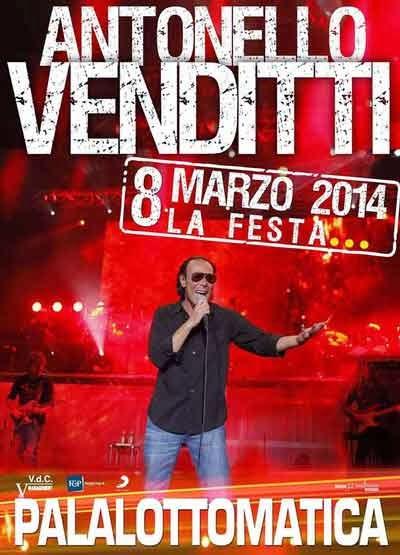 venditti concerti marzo 2014 roma