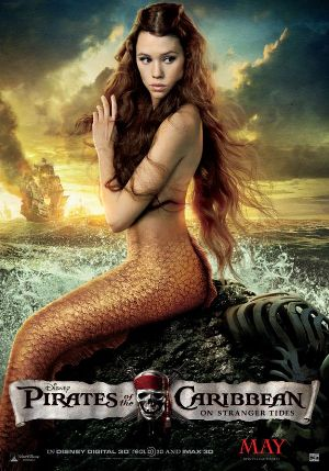Astrid Berges Frisbey The mermaid Of Pirates of carribean 4