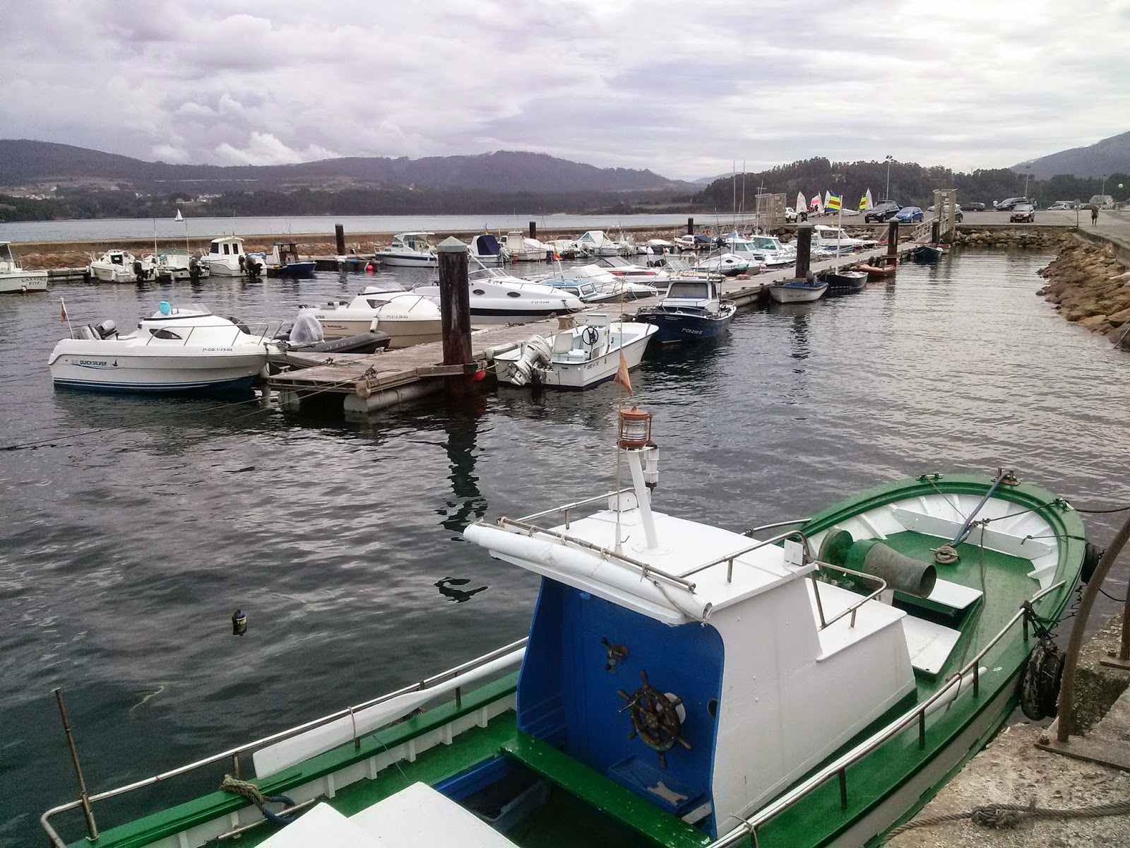Galicia Foz puerto