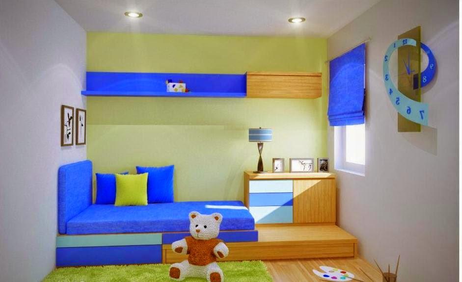 Desain kamar tidur anak perempuan minimalis gratis