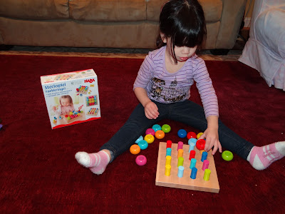 Wordless Wednesday: Hayleys favorite HABA Toy from Maukilo