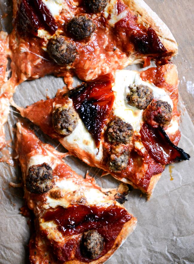 Idaho Stockdogging: Mini Meatball Pizza