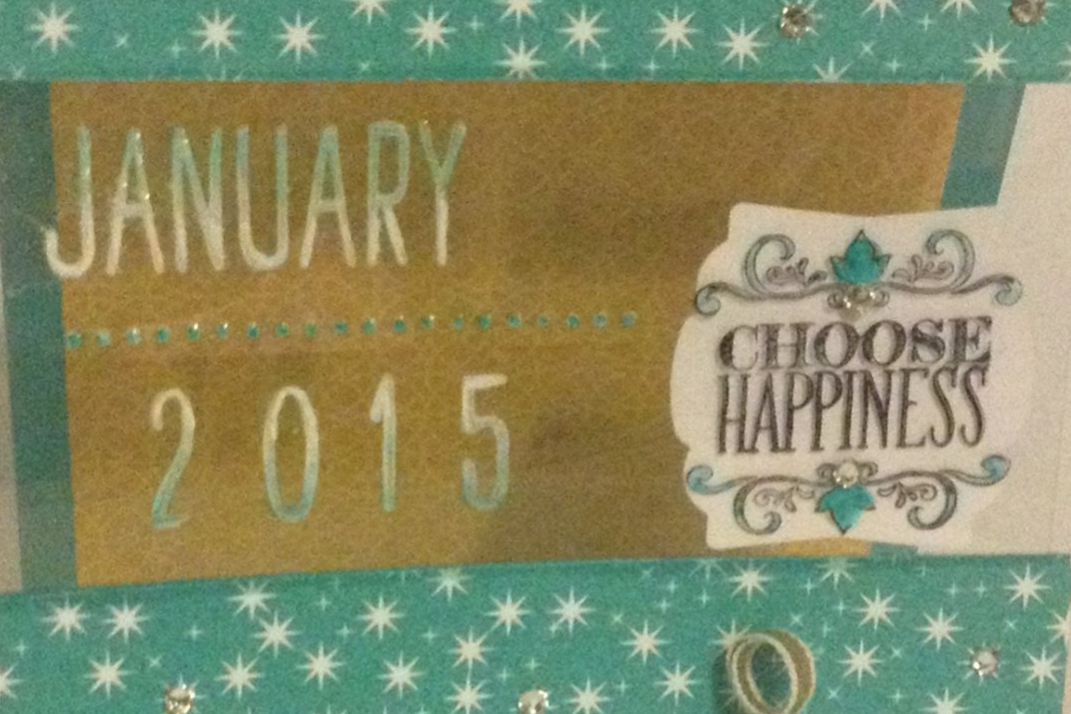 Project Life Day to Day Stampin Up Choose Happiness Motley Monsters  1MIDNIGHTCRAFTING