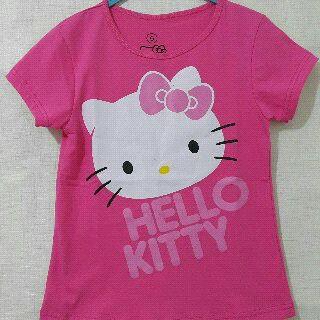Baju Anak Karakter Hello Kitty Pink Size 1 - 6 Y