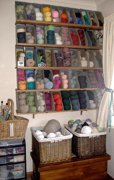 Knitting Supplies Storage Ideas : Handmade by haniyyah yarn organizer ideas