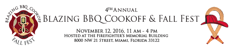 IMCF & Local 1403 present the 4th Annual Blazing BBQ Cookoff and Fall Fest