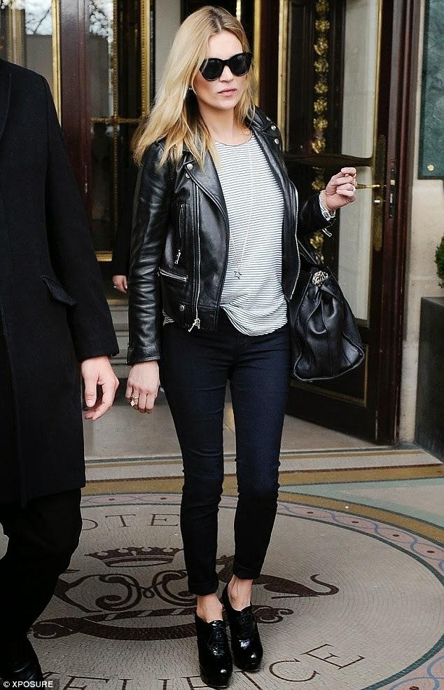 Kate moss leather jacket