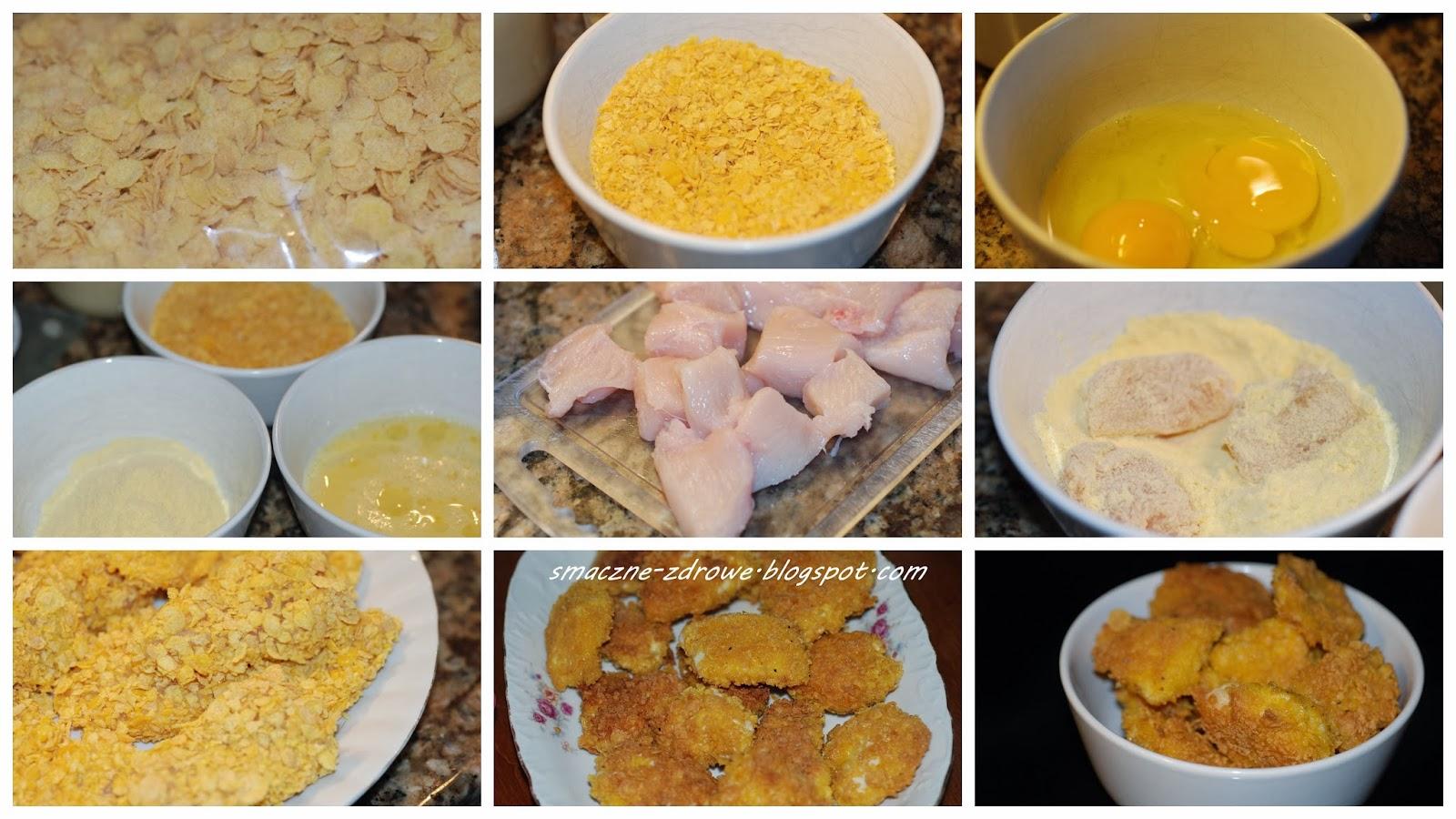 Smaczne Zdrowe Domowe Nuggetsy Kurczaczki Mcnuggets W Platkach