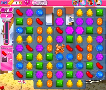 Candy Crush Saga 819