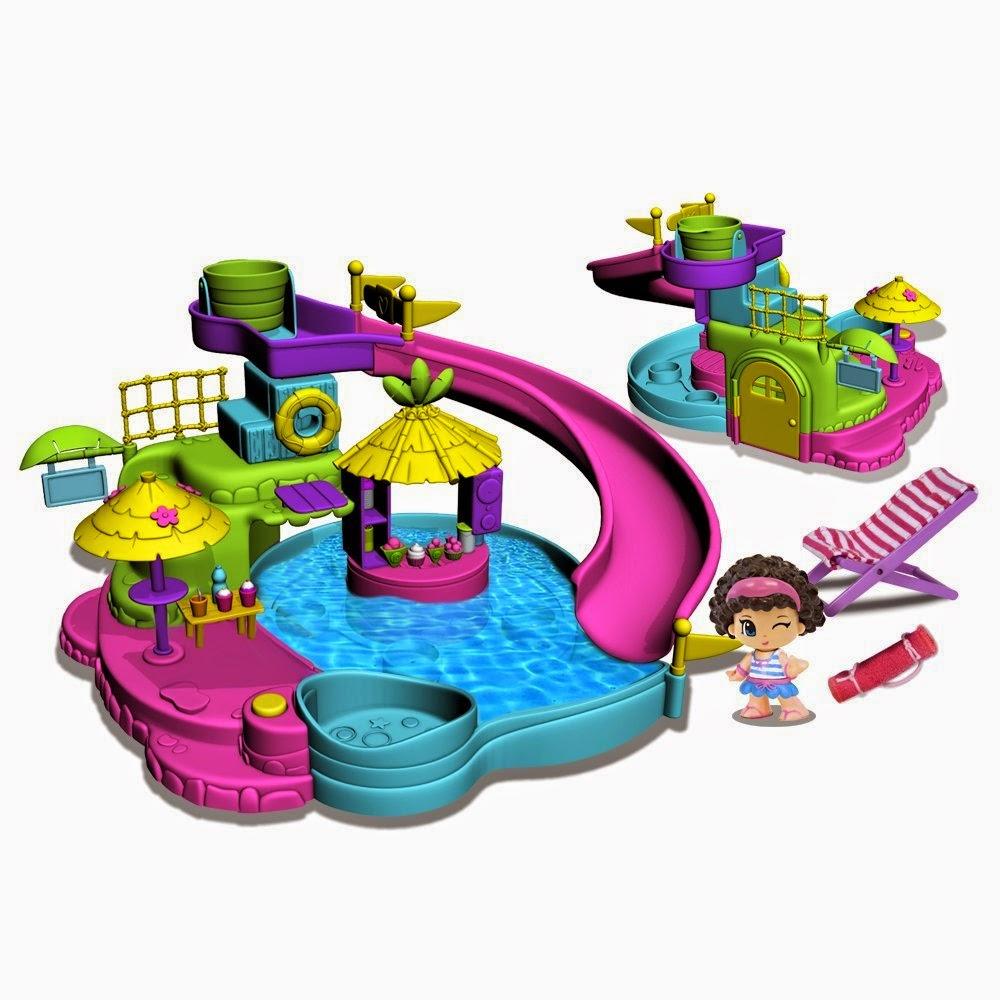TOYS : JUGUETES - PINYPON  Aquapark . Parque Acuático  Producto Oficial | Famosa 700010254 | A partir de 4 años