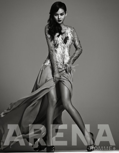 Kim Yoon Hye - Arena Homme Plus Magazine January Issue 2014
