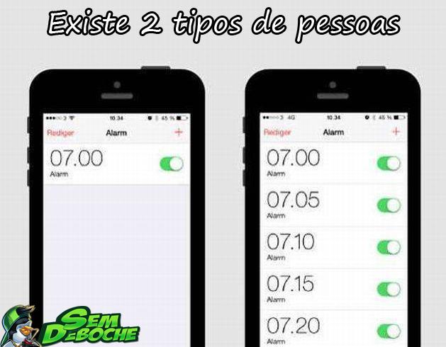 EXISTE DOIS TIPOS DE PESSOAS