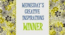 Winner @ Creative Inspirations 10th Dec'