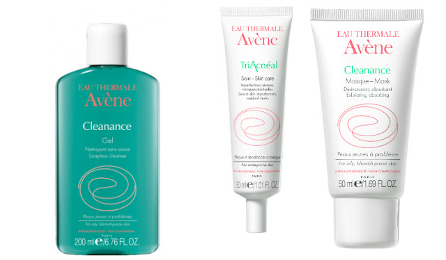 PR:Avene 3-step Skin Care for Acne-prone skin this Monsoon