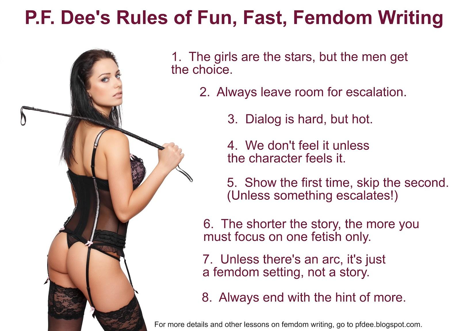 Sensual Femdom Stories