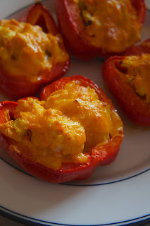 Buffalo Chicken Stuffed Peppers: Savory Sweet and Satisfying