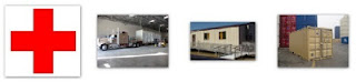Modular buildings, trailers and offices for emergency relief.