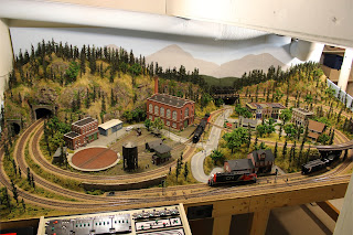 Overall view of Ty's Model Railroad