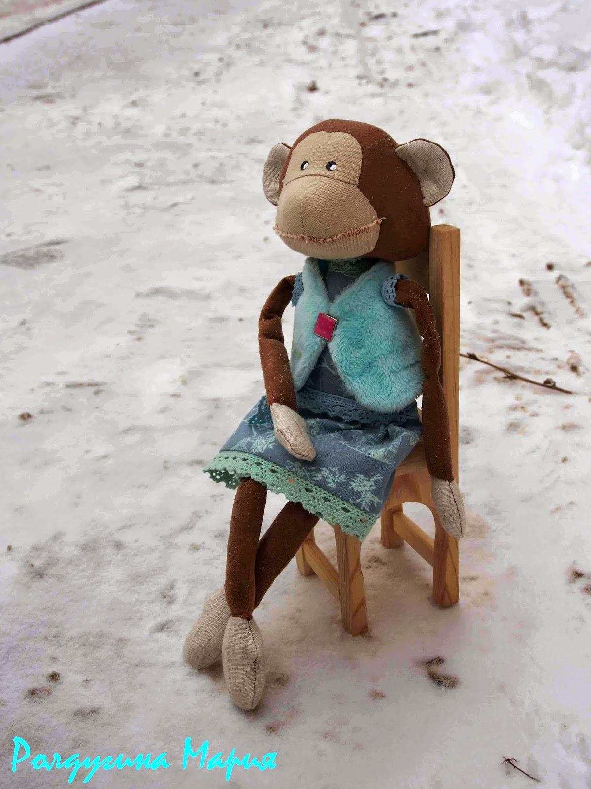 хенд мейд обезьянка