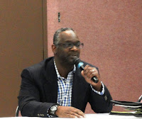 John Larkin, senior partner with ESC, served as a guest panelist at the event.
