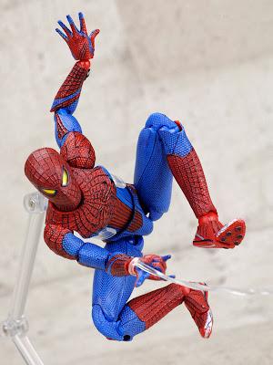 "Medicom Mafex 6"" Amazing Spider-Man Figure"