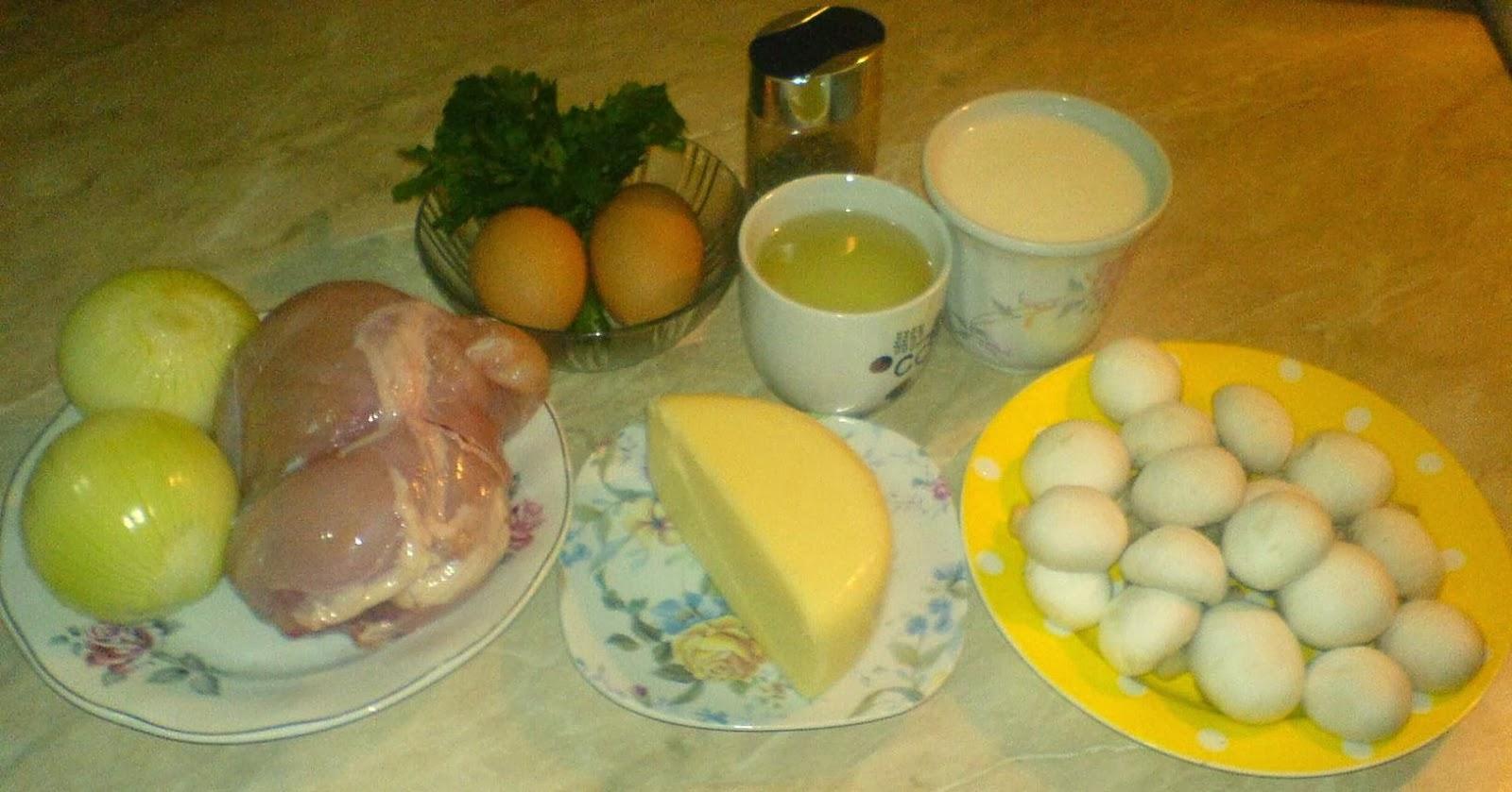 retete culinare, retete cu ciuperci, retete de mancare, clatite la cuptor