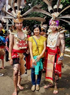 suku dayak 2013
