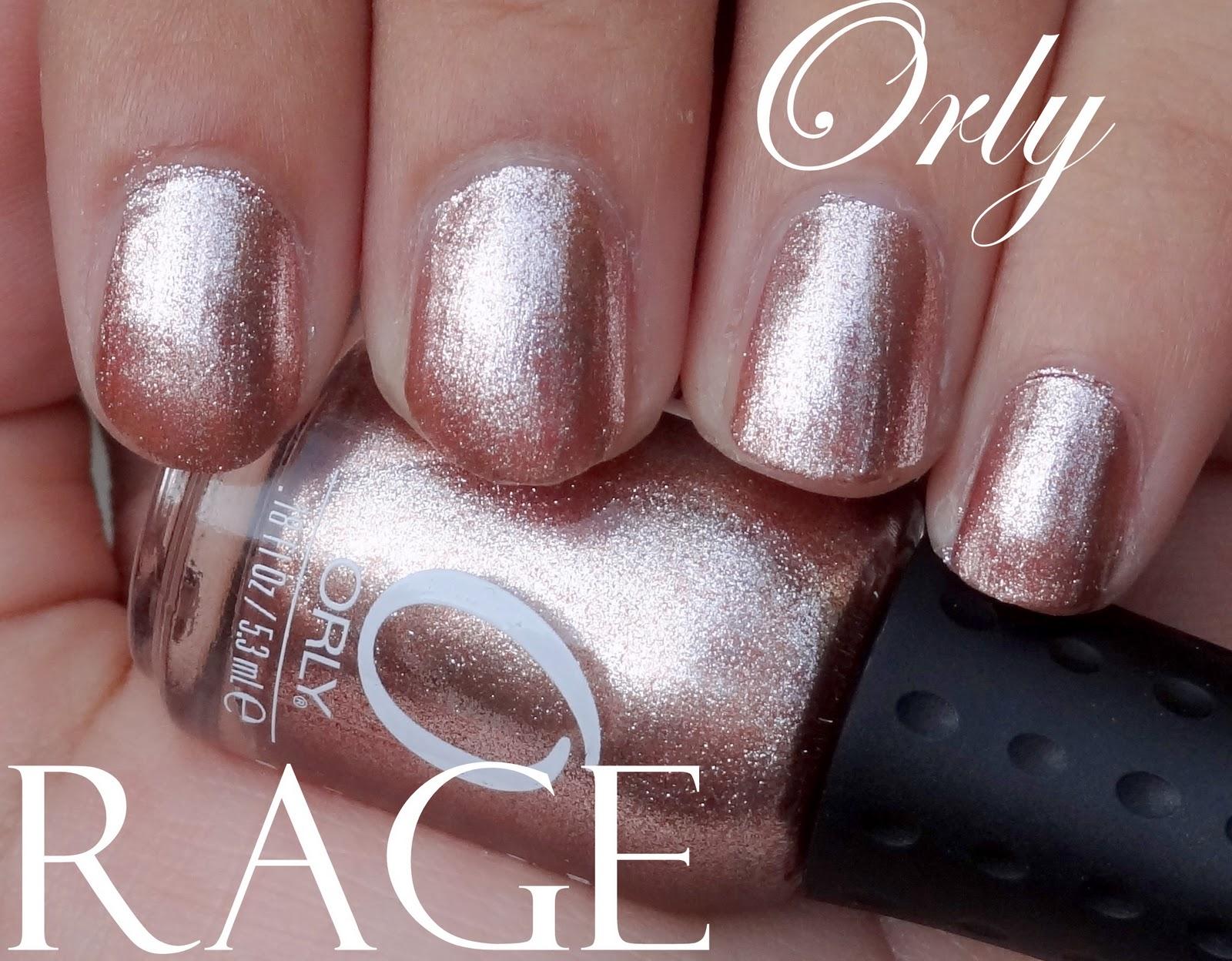 Orly Rage Nail Polish: Swatch, Review, Photos - Peachesandblush