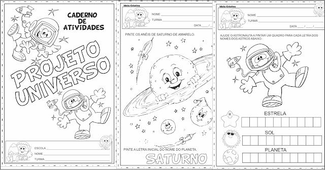 Caderno de Atividades Projeto Universo