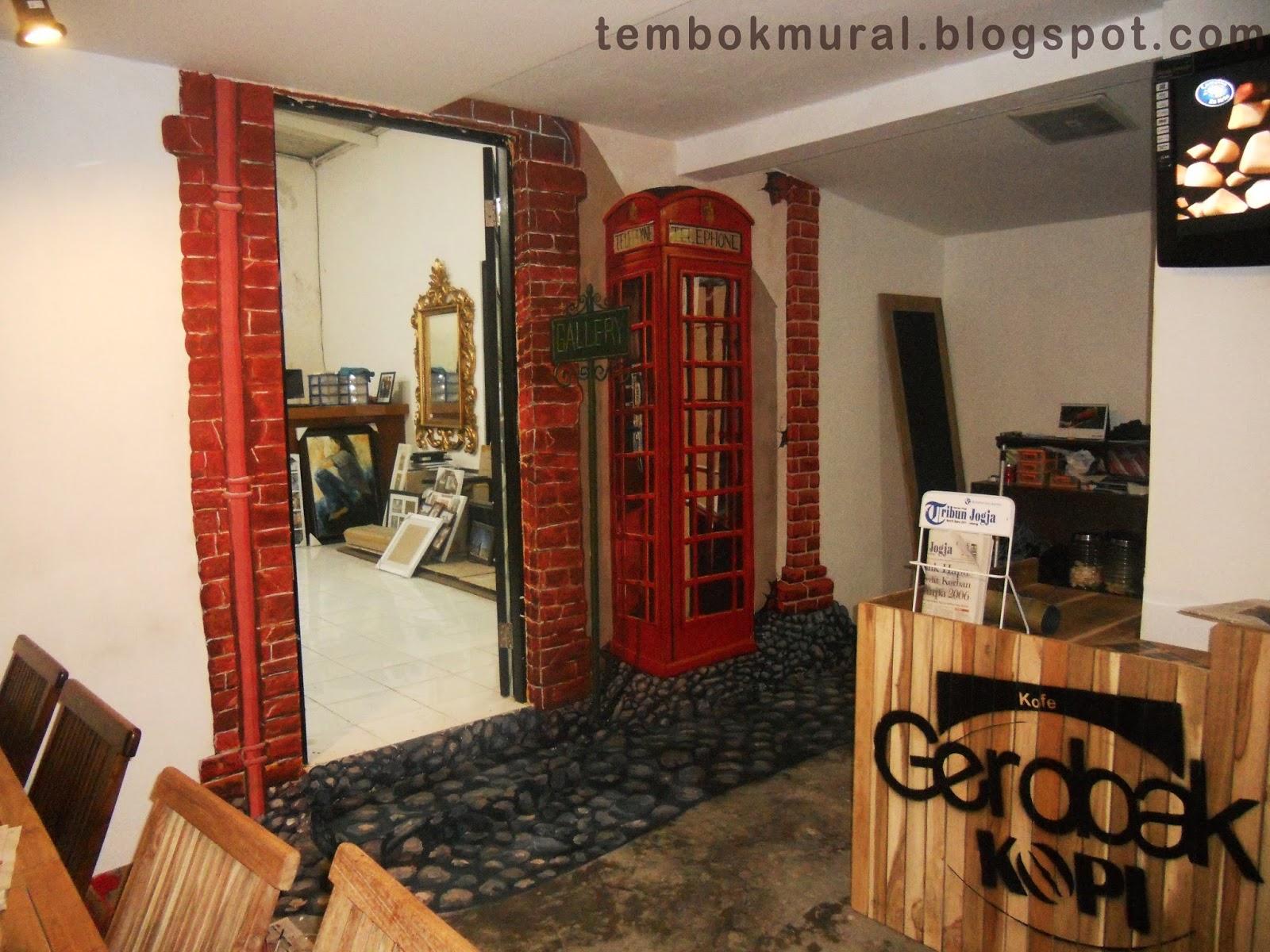 Tembok mural jogja for Mural untuk cafe